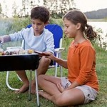 Keeping Your Children Safe While Grilling Outdoors