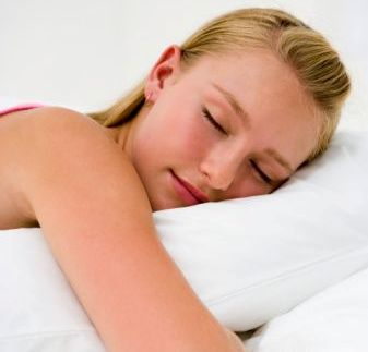 For teens, sleeping enough can also reduce the risk of obesity