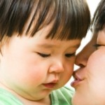 Kissing And Kids: Rules Of Thumb