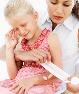First Aid with Childhood Injuries